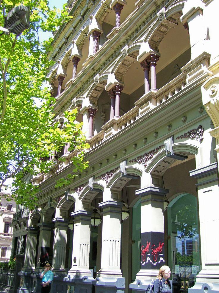 Beautiful Historical building. No 1 Collins Street, Melbourne. #Australia