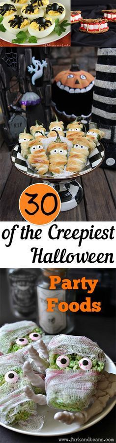 30 of the Creepiest Halloween Party Foods