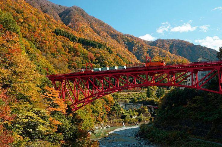 黒部峡谷の紅葉園/富山県 きっとあなたが知らない!日本の絶景20選