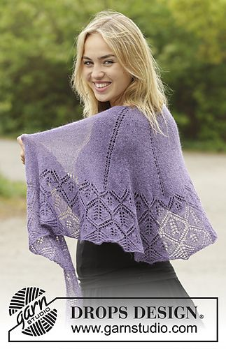 171-47 Angelique by DROPS design ~ Free pattern