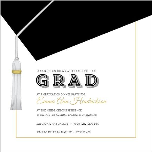 24 best Joint Graduation Party Ideas images on Pinterest - fresh graduation invitation maker online free