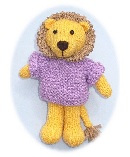 Lion Knitting Pattern Toy : The 46 best images about knitted toy patterns knitting animals teacosies tea ...