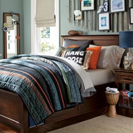 pb teen: Wall Colors, Bedrooms Colors, Boys Bedrooms, Boys Rooms, Surfing Bedrooms, Teen Boys, Bedrooms Furniture, Guys Rooms, Bedrooms Ideas