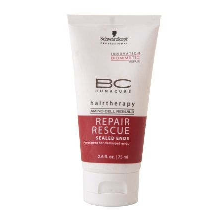 Schwarzkopf Professional Bonacure BC Hairtherapy Repair Rescue Sealed Ends - 2.6 fl oz