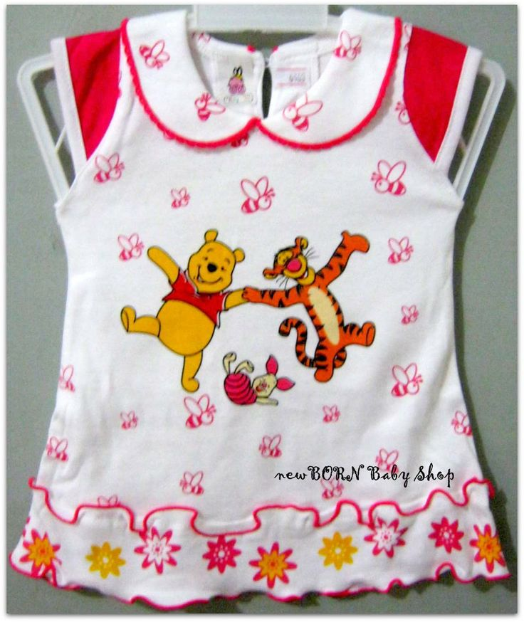 Baby Dress 'Winnie the Pooh & Friends' for Baby girl 0-6 month