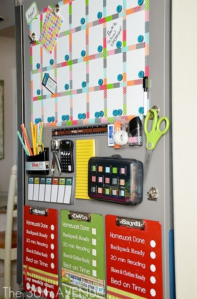I need this kind of organization for the kids