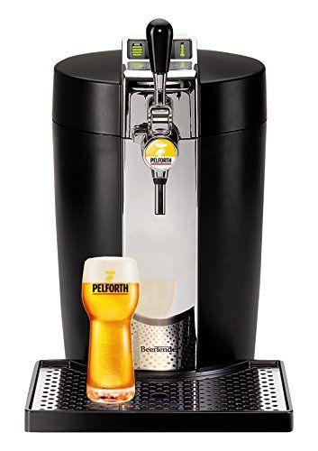Krups VB700800 BeerTender Machine à Bière Thermoplastique Noir: Un indicateur permet de connaître le niveau de refroidissement du fût, pour…