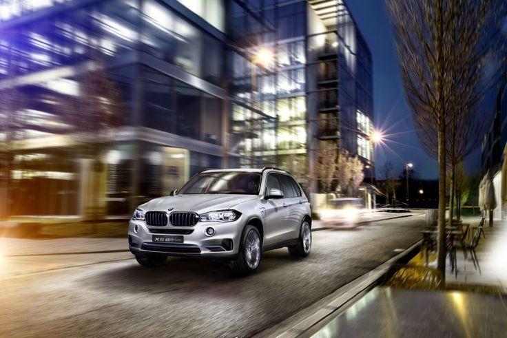 BMW Concept X5 eDrive auf der New York International Auto Show 2014  autophorie