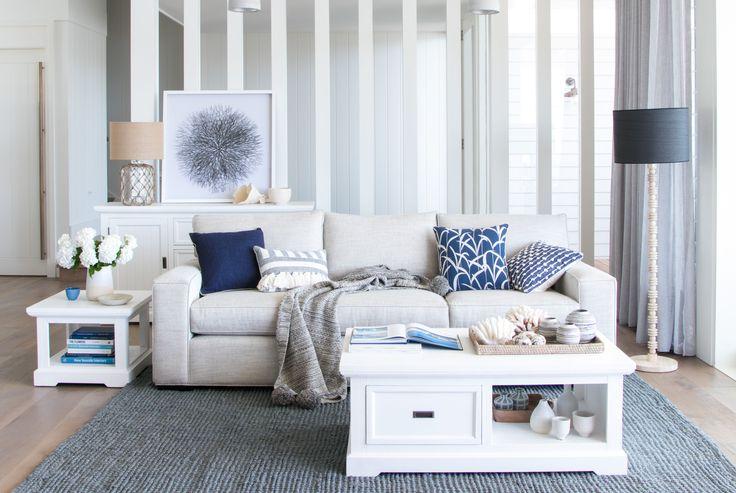 Ashton Sofa With Hamptons Coffee Side And Buffet