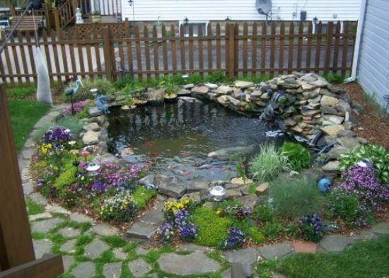 25 besten Gartenteich Ideen Bilder auf Pinterest Gartenteiche - gartenteich bilder beispiele