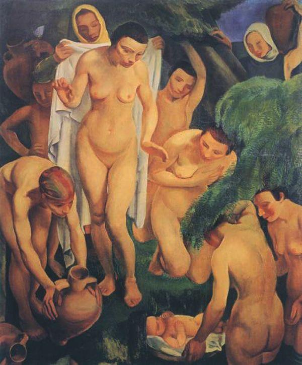 Georges Kars, Nalezení Mojžíše, 1922