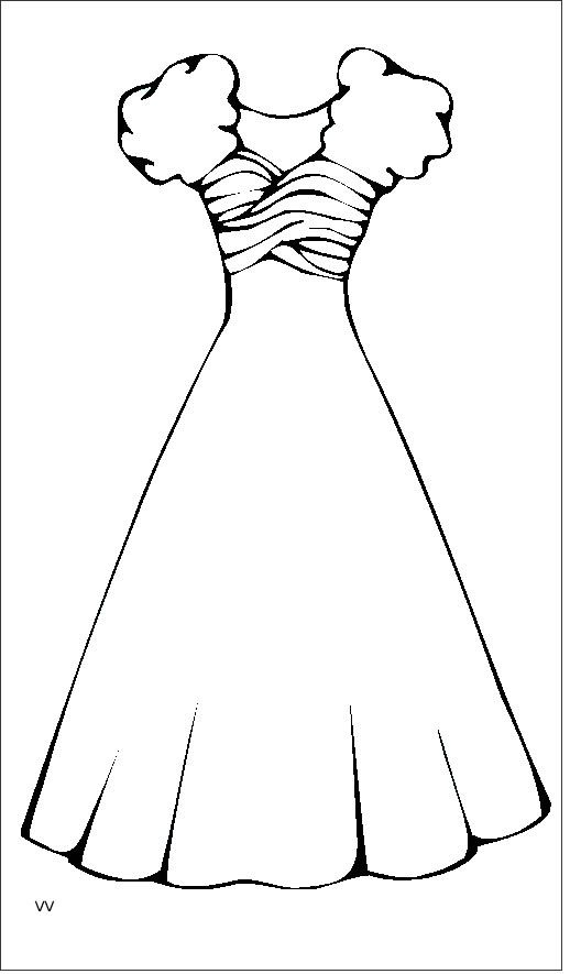 Dress 4 Teens And Adults Coloring Pages