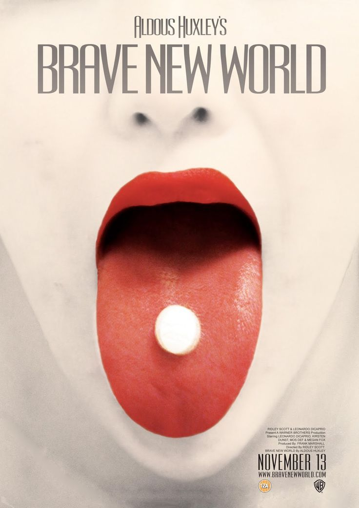 brave new world book cover re-design