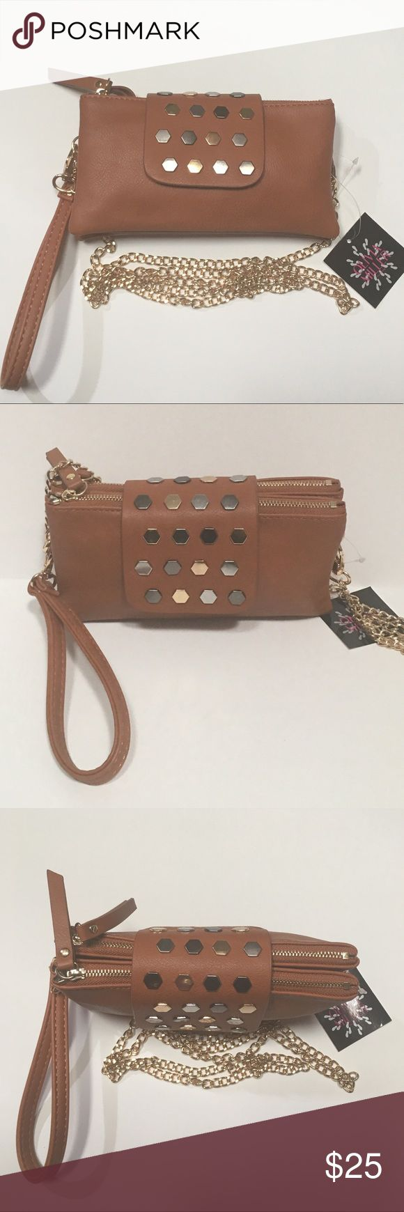 🆕Wristlet With Detachable Shoulder Strap Versatile wristlet with lots of compartments. 6 pockets on each zipper compartment. 6 and 7 plus Apple phone can fit with a thin phone cover or no cover at all. 7 inches width and 4 inches height. Detachable Shoulder Strap is 22 inches Shoulder Drop. This can be worn cross body if needed. Olivia Miller Bags Clutches & Wristlets
