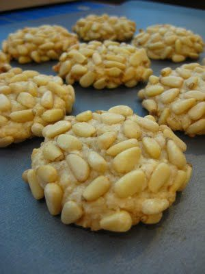 pignoli cookies... why italians know how to bake