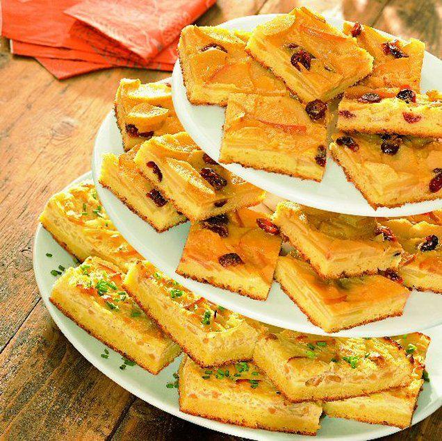 Kartoffelkuchen mit Cashew-Zwiebel-Belag Rezept | Dr. Oetker