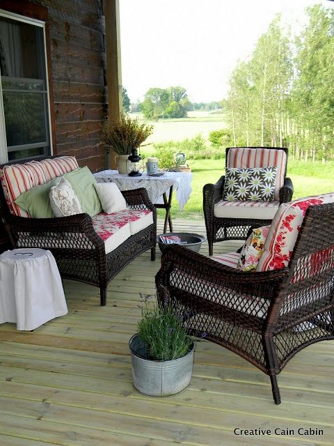 23 best images about front porch ideas on pinterest for Front porch furniture ideas