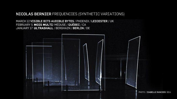frequencies (synthetic variations)   nicolas bernier on Vimeo
