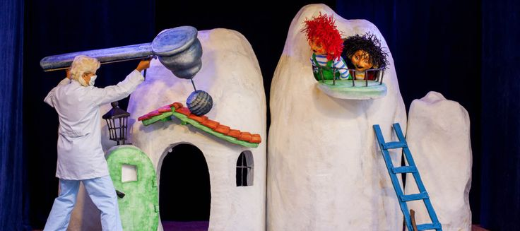 """The two """"Tooth Trolls"""", Carius and Bactus, are alive and well in Dyreparken Kristiansand or The Kristiansand Zoo & Amusement Park, Kardemomme By, Vest-Agder County, Norway."""