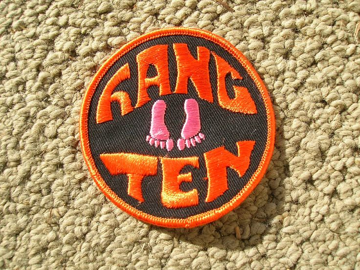 vintage hang ten surfing surfer surfboard longboard jacket patch 1970s / 80s hot FOR SALE • $10.99 • See Photos! Money Back Guarantee. be sure and check out all my vintage surfboards and surfing items... here is a new old stock hang ten surfing jacket patch from the 70s or 80s. .. nice 382050572468