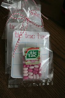 Tic tac toe valentines: These are so cute and incorporate a little candy (which my kids would LOVE) without drowning them in sugar.