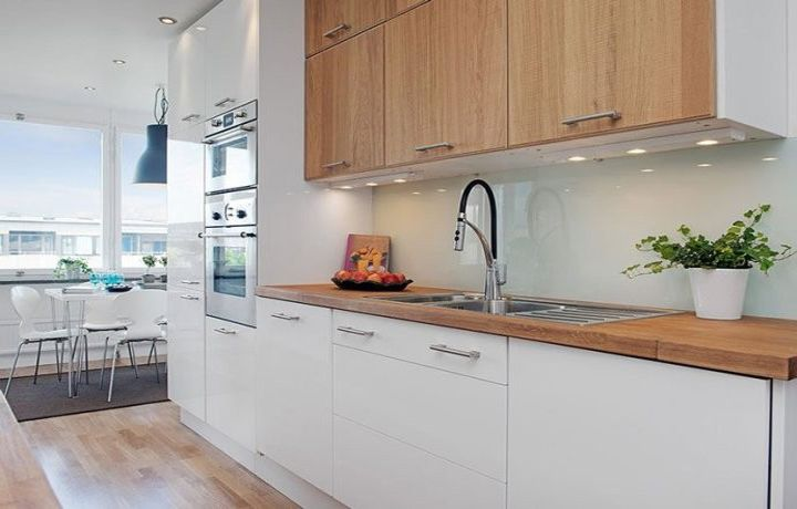 Nordic kitchen the whole cabinet design