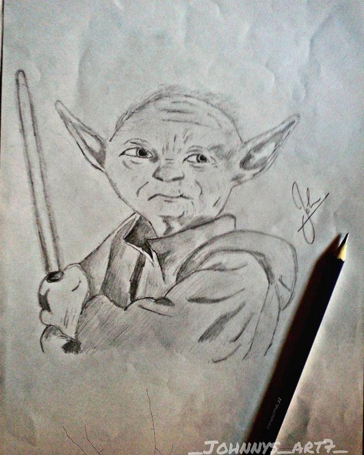 "#6 ""Feel the force""~Yoda Pencil ART #olddrawing #finally #examsover #instamood#yoda #starwars  #johnnys_artbook #artforshoutout #art_prime #artsy #mizu_arts_help #arts_secret #art_conquest #art_collective#artsgallery #worldofartists#Pencildrawing #instaart#dailyartistique#starwarfans#mallureposts"