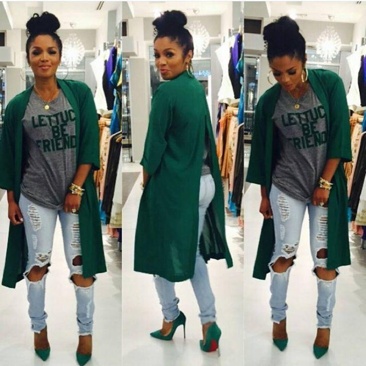 ❤ Rasheeda's Outfit