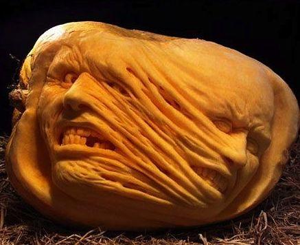 ☆ Pumpkin Carving Art :¦: By Artist Ray Villafane ☆