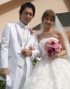小倉優子と菊池勲の結婚式画像