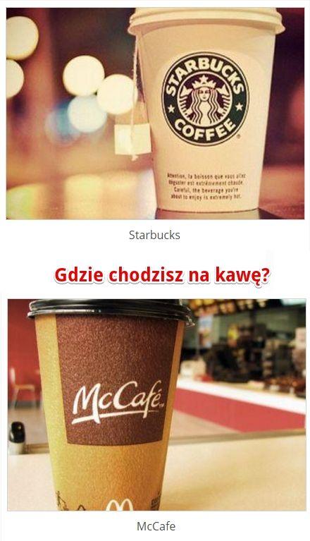 Gdzie chodzić na kawę? Starbuck czy McCafe? http://www.ubieranki.eu/quizy/co-wolisz/176/gdzie-chodzic-na-kawe_.html#CoWolisz