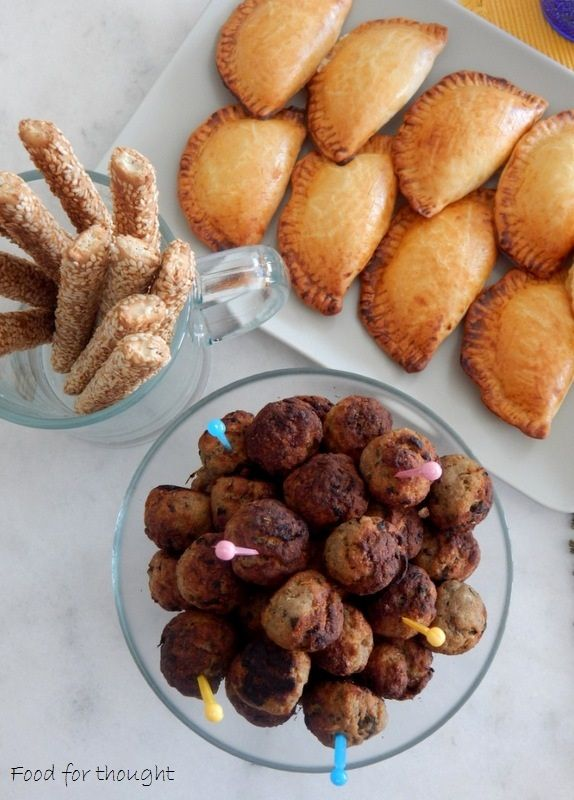 Food for thought: Αφράτα κεφτεδάκια φούρνου