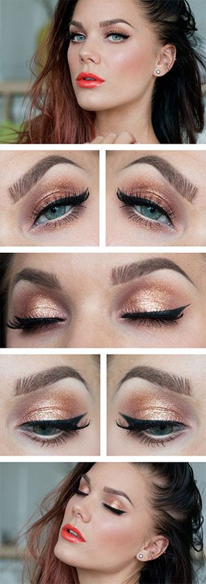 Makeup For Blue Eyes Eyeshadow Tutorials For Light Eyed