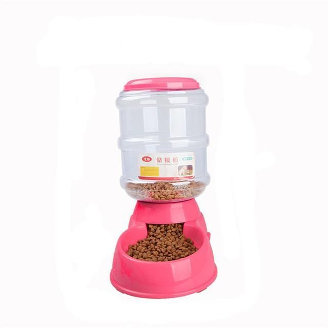 3.5L Automatic Dog Feeder http://www.cleaverkitty.com/product-category/cat-feeders/automatic-cat-feeders/