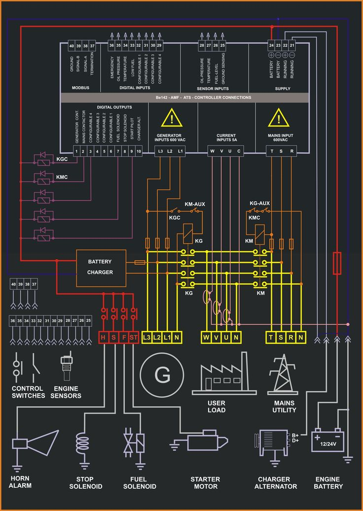E Bed Bc Adce C Ab on 3 phase generator wiring diagram
