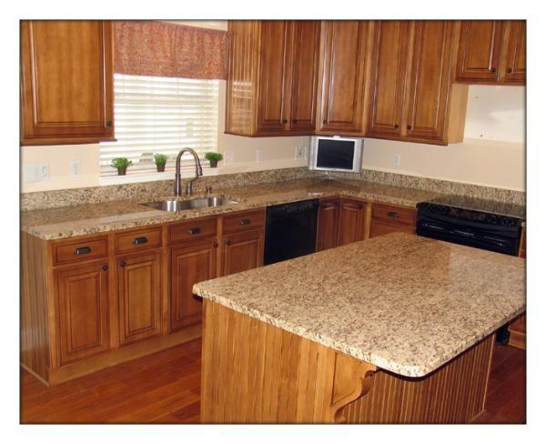 Santa Cecilia Granite Countertops | Santa Cecilia Light ... Light Granite Countertops Kitchen