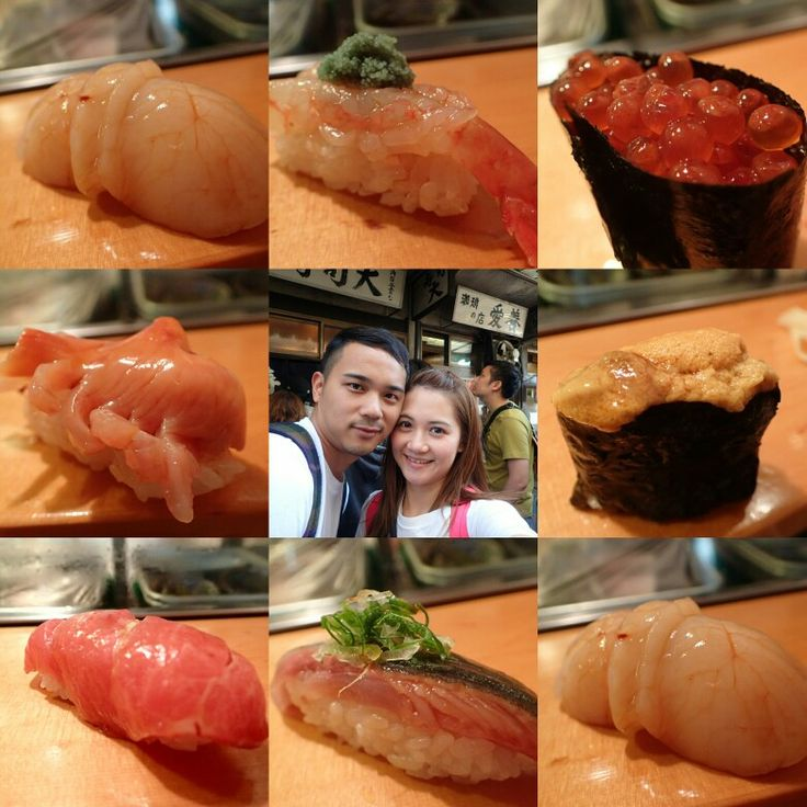 築地市場 (Tsukiji Fish Market) in 東京, 東京都
