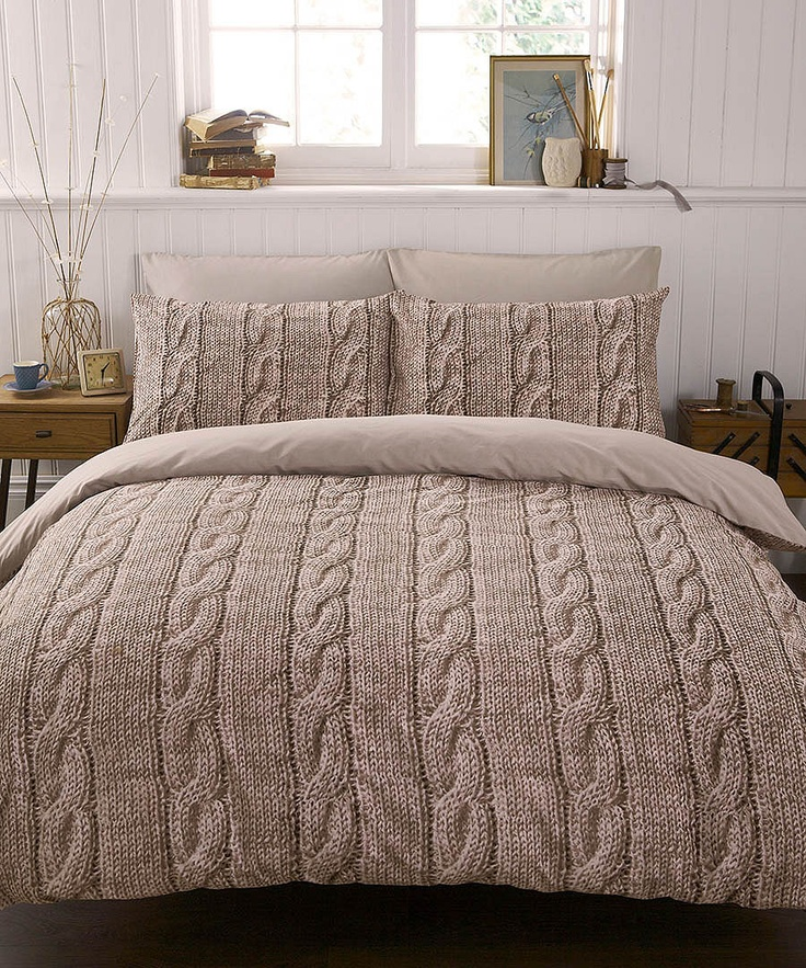 Double Knit duvet set Sale - Bedding by Ashley Wilde