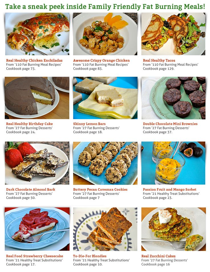 48 best images about Family Friendly Fat Burning Meals on ...
