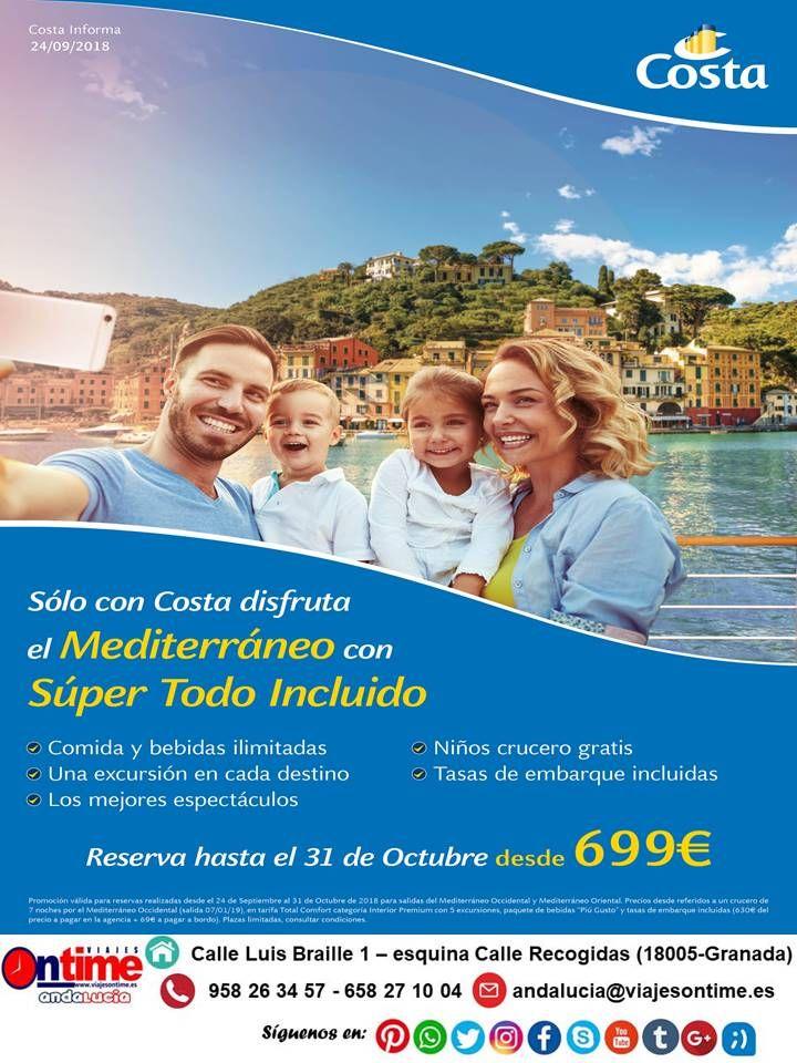 Disfruta El Mediterraneo Con Un Super Todo Incluido Desde 669