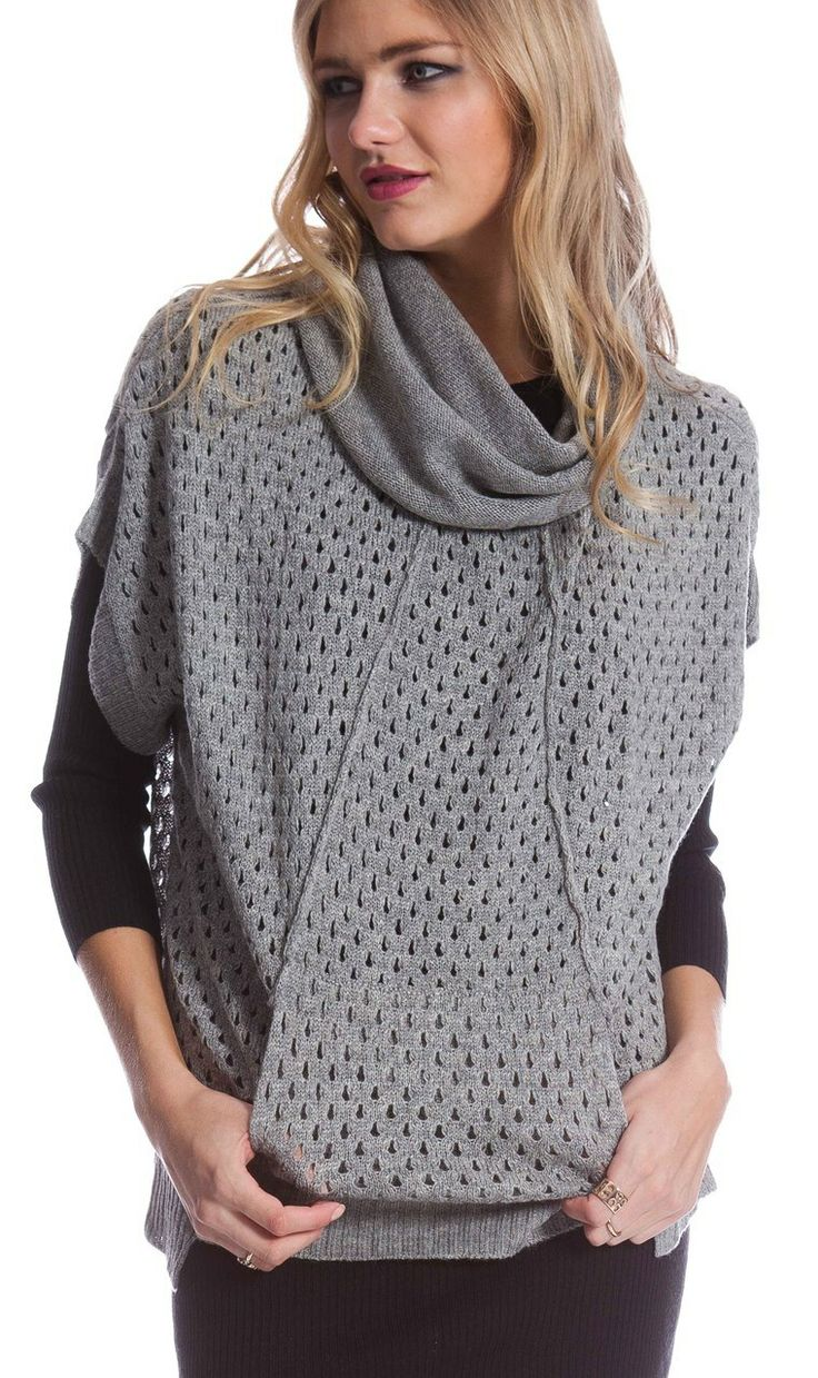 AlibiOnline - Holy Grail Poncho by COOPER ST, $139.95 (http://www.alibionline.com.au/holy-grail-poncho-by-cooper-st/)