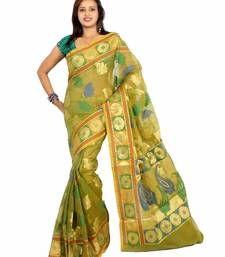 Buy Organza Multi Resham Zari Patola Saree organza-saree online