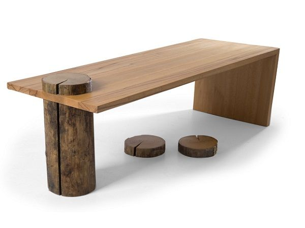 Simplitate si rafinament emanate de elemente naturale. Savureaza cafeaua intr-un ambient unic cu ajutorul mesei Stud. #InspiringComfort #SomProduct #nature #design #wood #coffee #table #beech