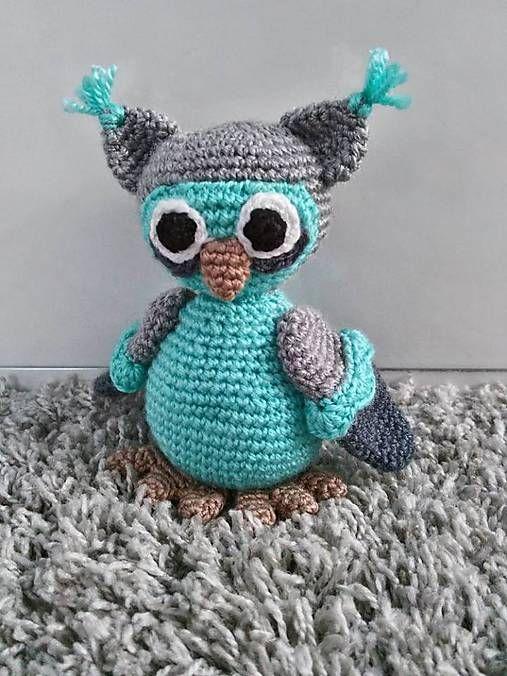 Jamin / sovička Timko crochet owl