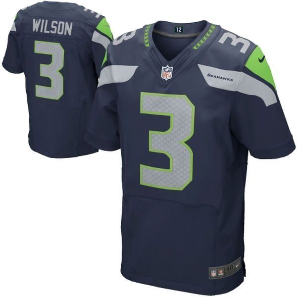 2e53adc5a Camisa Seattle Seahawks - 3 Wilson - 12 Fan - 89 Baldwin - 31 Chancellor