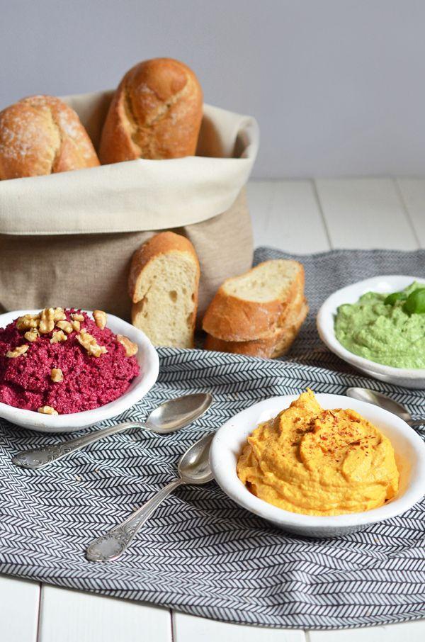Dreierlei Dips für die Party | Die Lebensmittelampel kulinarisch interpretiert