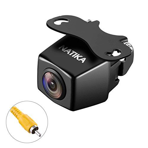 NATIKA Backup Camera with Waterproof Starlight Night Vision 720P 1280×720 Pixels High Definition and 170 Degree Super Wide Angle Reverse Rear View Camera for Cars Jeep SUV RV Van Trucks Micro Bus etc - Specification: -Signal System: NTSC -Horizontal Resolution: 900 TV lines -Effective Pixels: 1280(H)*720(V)pixels -Lens viewing angle: 170 degrees -Waterproof IP Rate: IP69K -Power supply: DC12V-24V NATIKA WD-007S: The Amazing Night Vision and Waterproof Backup Camera Amazing Wide Angle View…