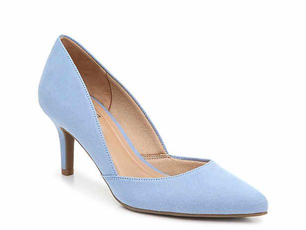 Sandals   DSW   Blue pumps heels, Pumps