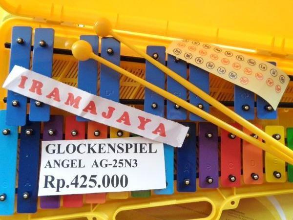 Jual beli GLOCKENSPIEL ANGEL AG-25N3 di Lapak Irama Jaya - iramajaya. Menjual Alat Musik Lain-lain - *KONDISI BARU 100% Harga sudah Nett belum termasuk ongkos kirim Nb:Harga sewaktu-waktu bisa berubah tanpa pemberitahuan.