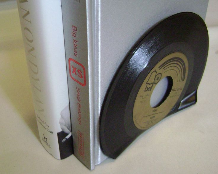 Vinyl record bookend Best Place to buy Vinyl Records Online : http://records-plus.com